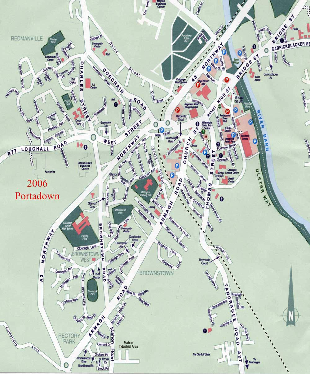 Maps of Portadown